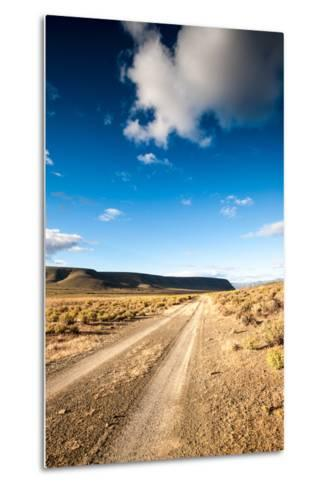 Karoo Desert Gravel Road-dan-edwards-Metal Print
