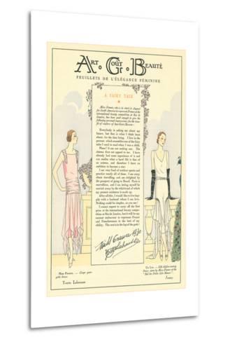 AGB Fashion Magazine--Metal Print
