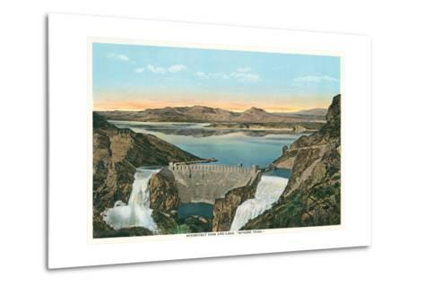 Roosevelt Dam, Apache Trail--Metal Print