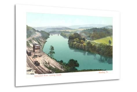 Shuykill River, Reading--Metal Print