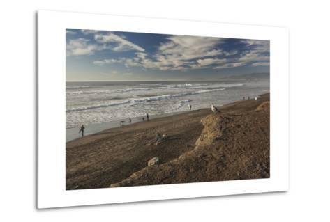 Ocean Beach Afternoon-Henri Silberman-Metal Print