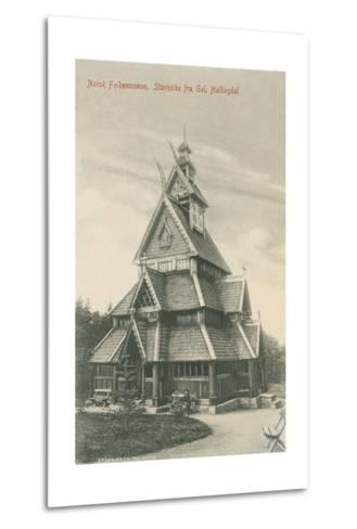 Norwegian Folk Museum--Metal Print