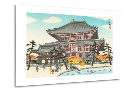 Large Pagoda--Metal Print