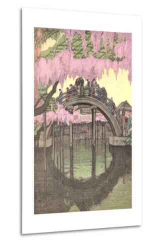 Hump-Backed Bridge, Kameido Tenjin--Metal Print