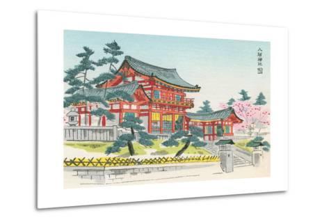 Pagoda and Grounds--Metal Print