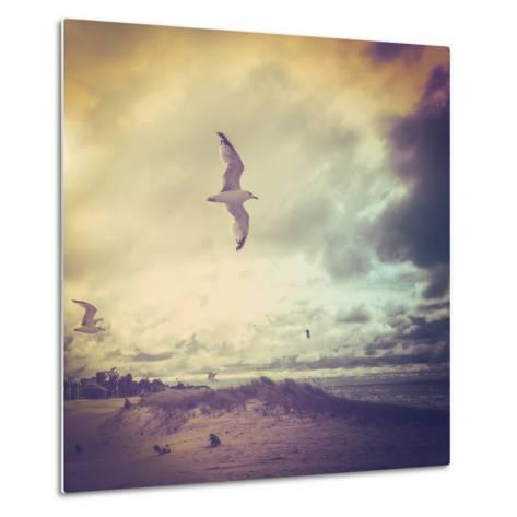 Stormy Day-soupstock-Metal Print