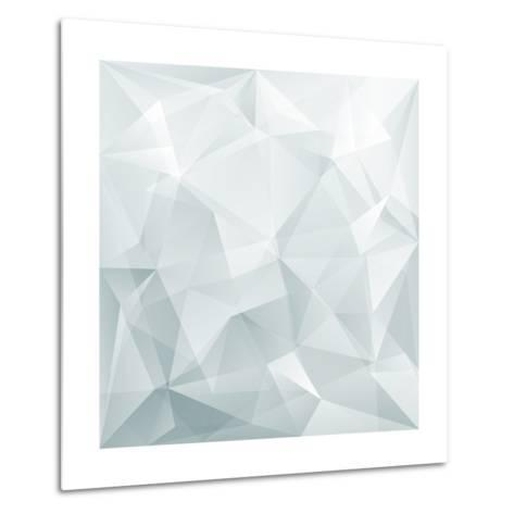 Abstract Triangle Background-Ms.Moloko-Metal Print