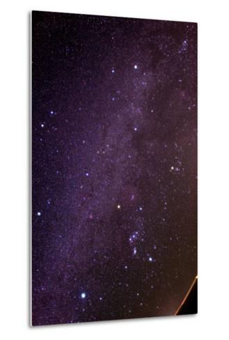 The Milky Way and Winter Stars in the Northern Hemisphere, Sirius at Lower Left, Orion at Lower Rig-Babak Tafreshi-Metal Print