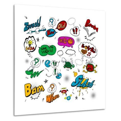 Comic Illustration-bspmaxx-Metal Print