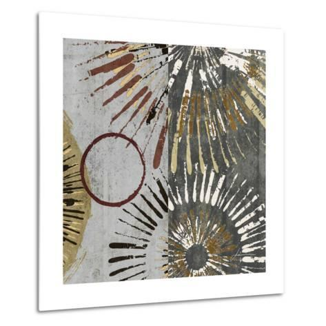 Outburst Tiles II-James Burghardt-Metal Print