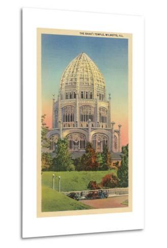 Baha'I Temple, Wilmette, Illinois--Metal Print