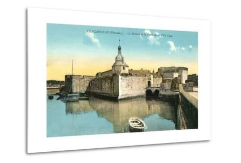 Fortress at Concarneau--Metal Print