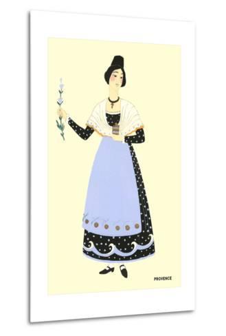 Native Costume of Provance--Metal Print