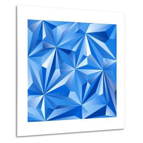 Abstract Blue Background-epic44-Metal Print