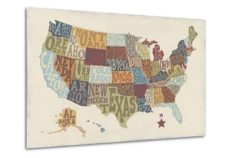 United State Signs-Erica J^ Vess-Metal Print
