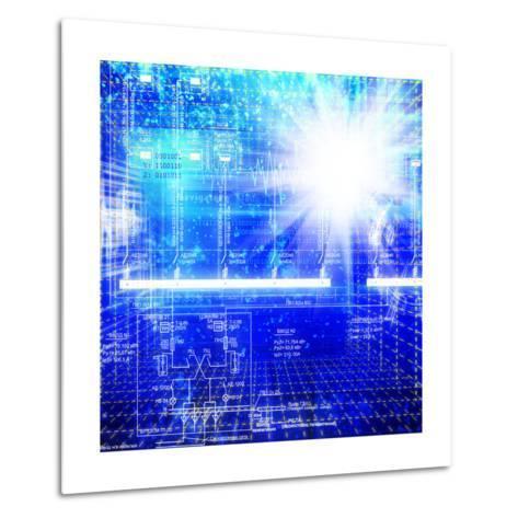 Solar Electric Power Industry-Alex150770-Metal Print