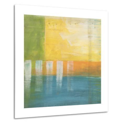 Citrus Fields I-Erica J^ Vess-Metal Print