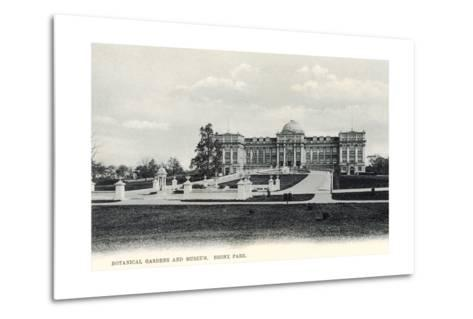 Botanical Gardens and Museum, Bronx Park--Metal Print