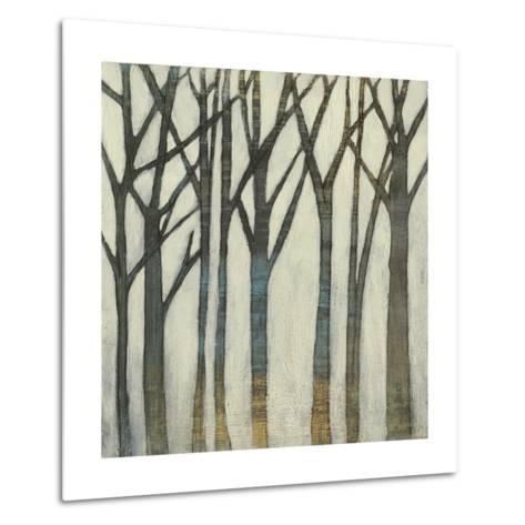 Birch Line I-Jennifer Goldberger-Metal Print