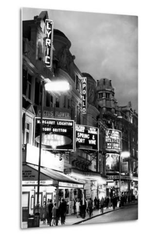 Theatre's of London's West End, 1967-Staff-Metal Print