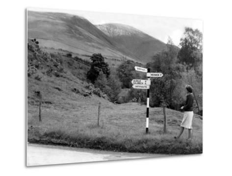 Lake District 1965-Staff-Metal Print