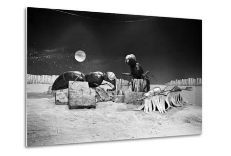 Dr Who, the Web Planet, 1965-Alisdair Macdonald-Metal Print