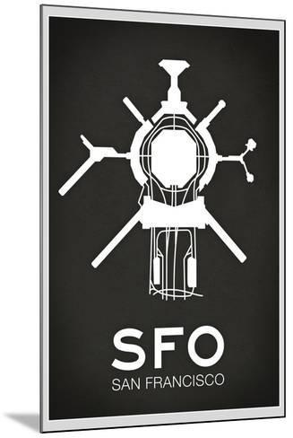 SFO San Francisco Airport--Mounted Poster