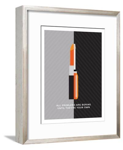 All Problems Are Boring Until They'Re Your Own--Framed Art Print