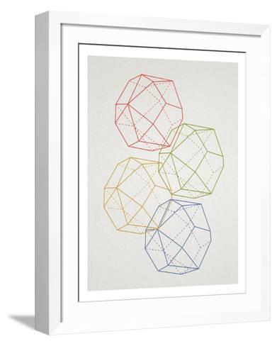 Geometric Pop Art--Framed Art Print