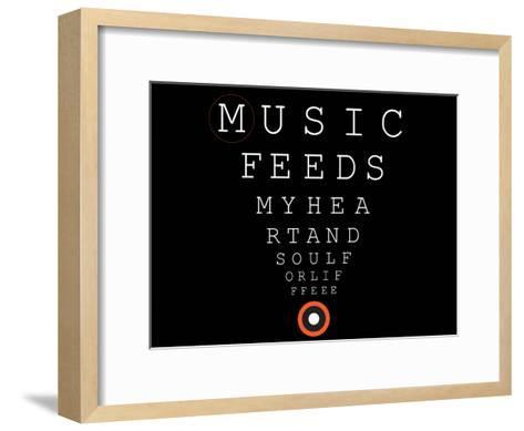 Music 4 Life 9--Framed Art Print