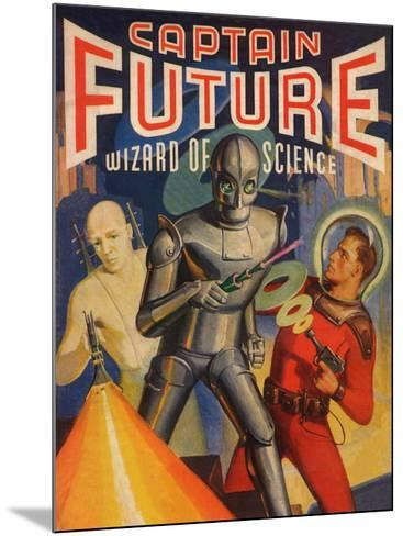Captain Future Wizard of Science Television Poster--Mounted Poster