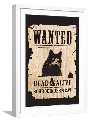 Schrodinger's Cat-Snorg-Framed Art Print