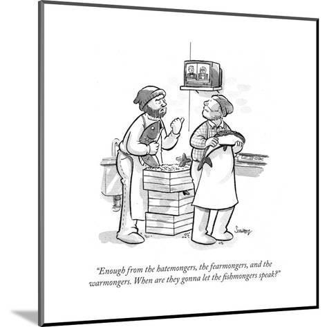 Cartoon-Benjamin Schwartz-Mounted Premium Giclee Print