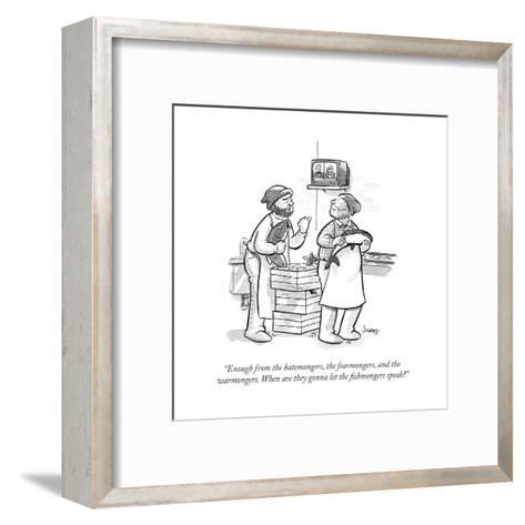 Cartoon-Benjamin Schwartz-Framed Art Print