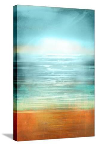 Ocean Abstract-Anna Polanski-Stretched Canvas Print