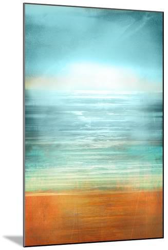 Ocean Abstract-Anna Polanski-Mounted Art Print