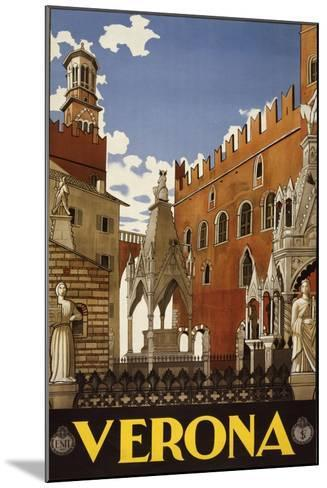 Verona--Mounted Art Print