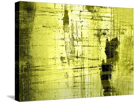 Vert Lime-Anna Polanski-Stretched Canvas Print