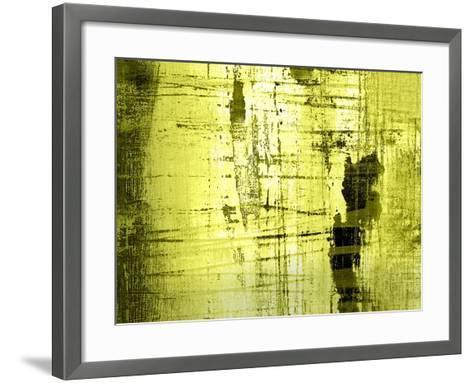 Vert Lime-Anna Polanski-Framed Art Print