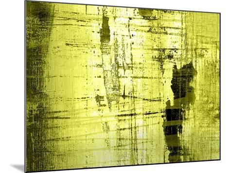 Vert Lime-Anna Polanski-Mounted Art Print