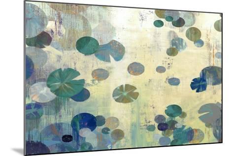 Teal Lily-Anna Polanski-Mounted Art Print