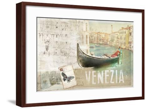 Venezia Butterfly-Andrew Michaels-Framed Art Print