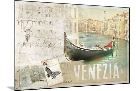 Venezia Butterfly-Andrew Michaels-Mounted Art Print