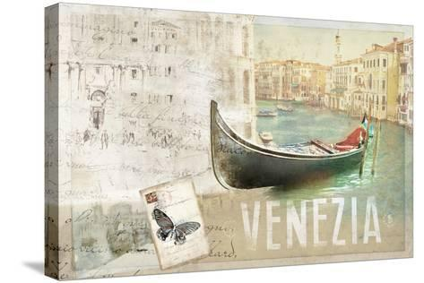 Venezia Butterfly-Andrew Michaels-Stretched Canvas Print