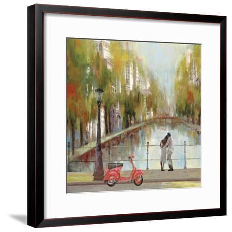 A Stroll to Remember-Anna Polanski-Framed Art Print