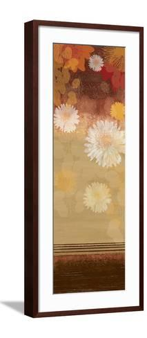 Floating Florals II-Andrew Michaels-Framed Art Print