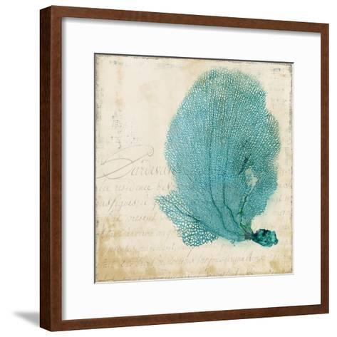 Blue Coral II-Anna Polanski-Framed Art Print