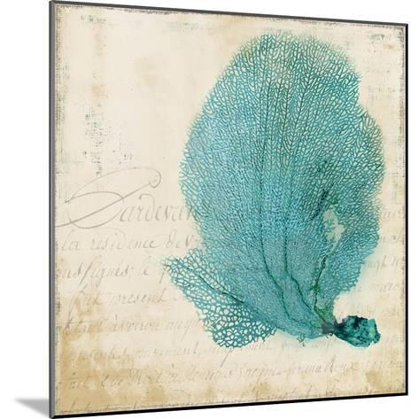 Blue Coral II-Anna Polanski-Mounted Art Print