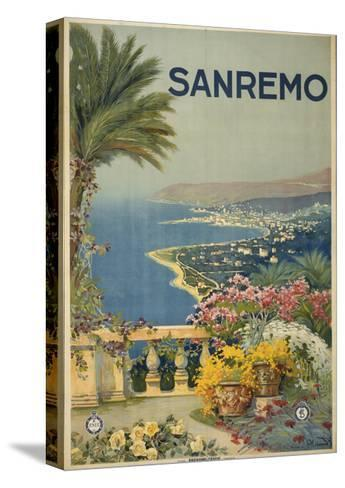 San Remo--Stretched Canvas Print