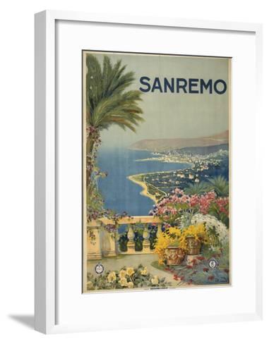 San Remo--Framed Art Print